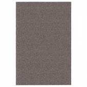 АЛЛЕРСЛЕВ Ковер, длинный ворс, коричневый, 200x300 см