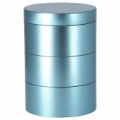 ЛАНКМОЙ Декоративная коробка, синий, 17x12 см