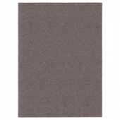 АЛЛЕРСЛЕВ Ковер, длинный ворс, коричневый, 170x230 см